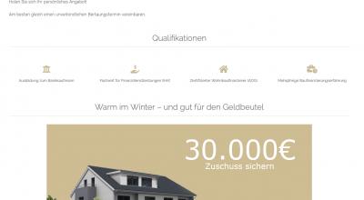 INDIVIDUAL Baufinanzierung Partnerhomepage