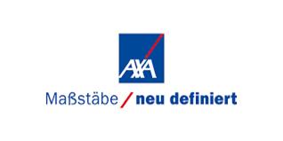 AXA Maßstäbe neu definiert Logo